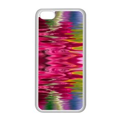 Abstract Pink Colorful Water Background Apple Iphone 5c Seamless Case (white)