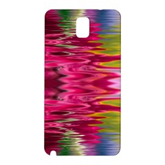 Abstract Pink Colorful Water Background Samsung Galaxy Note 3 N9005 Hardshell Back Case