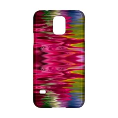 Abstract Pink Colorful Water Background Samsung Galaxy S5 Hardshell Case