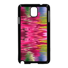 Abstract Pink Colorful Water Background Samsung Galaxy Note 3 Neo Hardshell Case (Black)