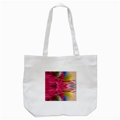 Abstract Pink Colorful Water Background Tote Bag (white)