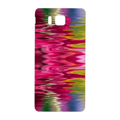Abstract Pink Colorful Water Background Samsung Galaxy Alpha Hardshell Back Case