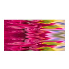 Abstract Pink Colorful Water Background Satin Wrap