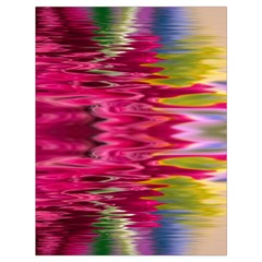 Abstract Pink Colorful Water Background Drawstring Bag (large)