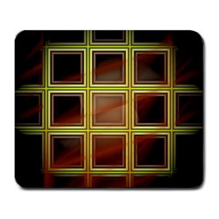 Drawing Of A Color Fractal Window Large Mousepads