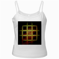 Drawing Of A Color Fractal Window Ladies Camisoles