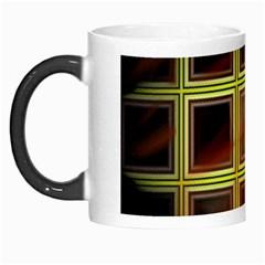 Drawing Of A Color Fractal Window Morph Mugs
