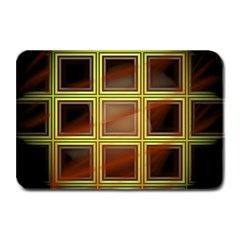Drawing Of A Color Fractal Window Plate Mats
