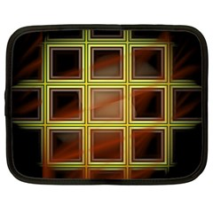 Drawing Of A Color Fractal Window Netbook Case (large)