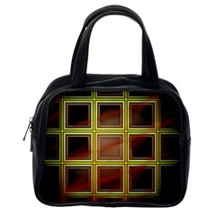 Drawing Of A Color Fractal Window Classic Handbags (One Side)