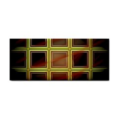 Drawing Of A Color Fractal Window Cosmetic Storage Cases