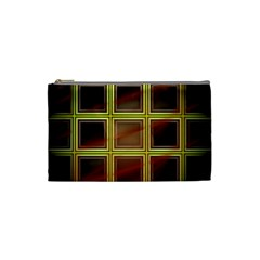 Drawing Of A Color Fractal Window Cosmetic Bag (small)