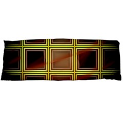 Drawing Of A Color Fractal Window Body Pillow Case Dakimakura (two Sides)