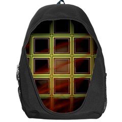 Drawing Of A Color Fractal Window Backpack Bag