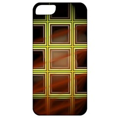Drawing Of A Color Fractal Window Apple Iphone 5 Classic Hardshell Case
