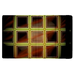 Drawing Of A Color Fractal Window Apple Ipad 2 Flip Case