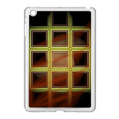Drawing Of A Color Fractal Window Apple Ipad Mini Case (white)