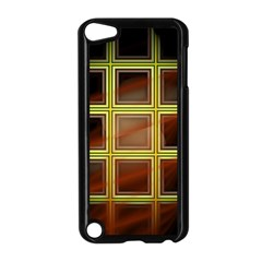 Drawing Of A Color Fractal Window Apple Ipod Touch 5 Case (black)