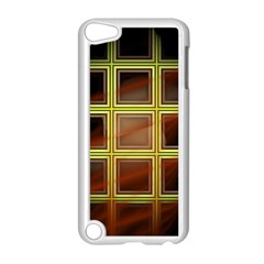 Drawing Of A Color Fractal Window Apple iPod Touch 5 Case (White)