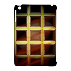 Drawing Of A Color Fractal Window Apple Ipad Mini Hardshell Case (compatible With Smart Cover)