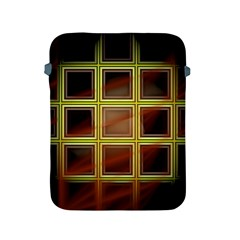 Drawing Of A Color Fractal Window Apple Ipad 2/3/4 Protective Soft Cases