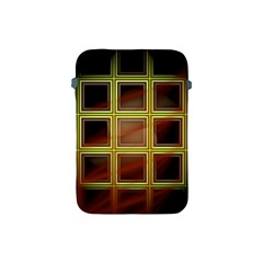 Drawing Of A Color Fractal Window Apple iPad Mini Protective Soft Cases