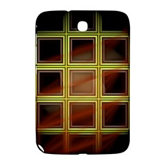 Drawing Of A Color Fractal Window Samsung Galaxy Note 8 0 N5100 Hardshell Case