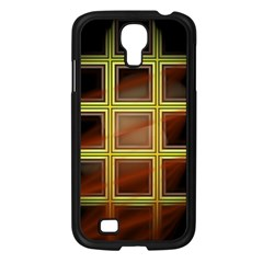 Drawing Of A Color Fractal Window Samsung Galaxy S4 I9500/ I9505 Case (Black)