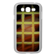 Drawing Of A Color Fractal Window Samsung Galaxy Grand Duos I9082 Case (white)