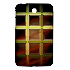 Drawing Of A Color Fractal Window Samsung Galaxy Tab 3 (7 ) P3200 Hardshell Case