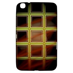 Drawing Of A Color Fractal Window Samsung Galaxy Tab 3 (8 ) T3100 Hardshell Case