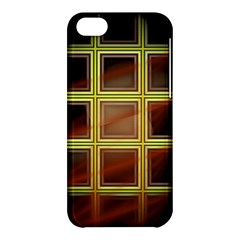 Drawing Of A Color Fractal Window Apple Iphone 5c Hardshell Case