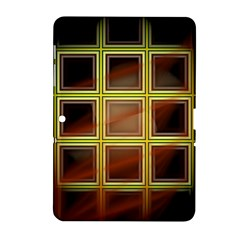 Drawing Of A Color Fractal Window Samsung Galaxy Tab 2 (10 1 ) P5100 Hardshell Case