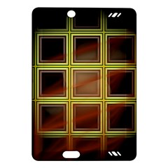 Drawing Of A Color Fractal Window Amazon Kindle Fire HD (2013) Hardshell Case