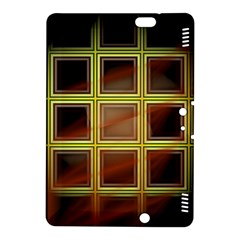 Drawing Of A Color Fractal Window Kindle Fire Hdx 8 9  Hardshell Case