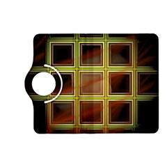 Drawing Of A Color Fractal Window Kindle Fire Hd (2013) Flip 360 Case