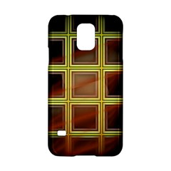 Drawing Of A Color Fractal Window Samsung Galaxy S5 Hardshell Case