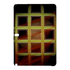 Drawing Of A Color Fractal Window Samsung Galaxy Tab Pro 10.1 Hardshell Case