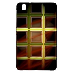 Drawing Of A Color Fractal Window Samsung Galaxy Tab Pro 8 4 Hardshell Case