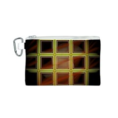 Drawing Of A Color Fractal Window Canvas Cosmetic Bag (s)