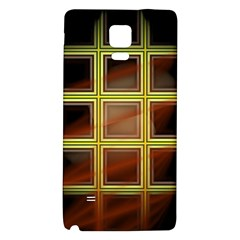 Drawing Of A Color Fractal Window Galaxy Note 4 Back Case