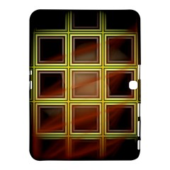 Drawing Of A Color Fractal Window Samsung Galaxy Tab 4 (10 1 ) Hardshell Case