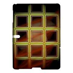 Drawing Of A Color Fractal Window Samsung Galaxy Tab S (10.5 ) Hardshell Case