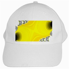 Fractal Abstract Background White Cap
