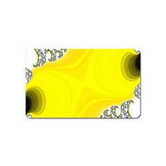 Fractal Abstract Background Magnet (Name Card)