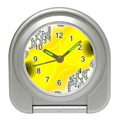 Fractal Abstract Background Travel Alarm Clocks