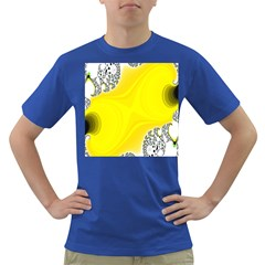 Fractal Abstract Background Dark T Shirt