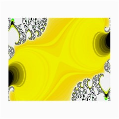 Fractal Abstract Background Small Glasses Cloth