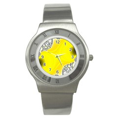 Fractal Abstract Background Stainless Steel Watch