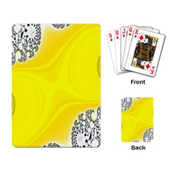 Fractal Abstract Background Playing Card